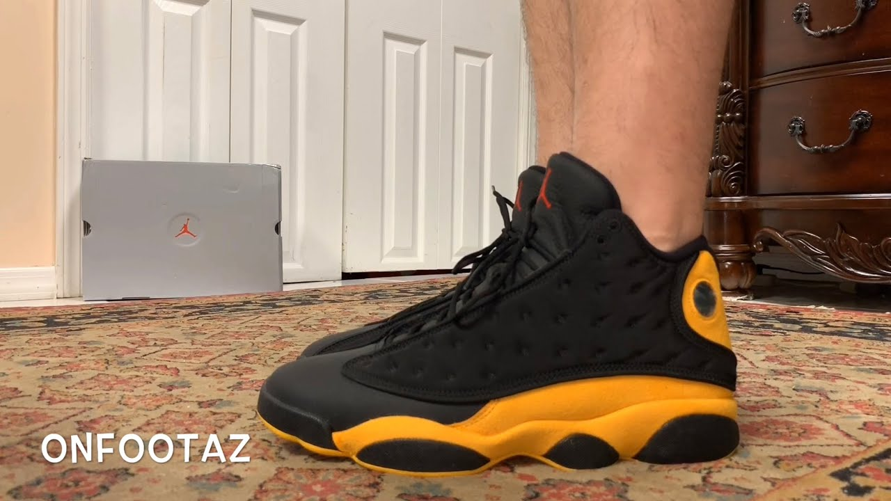 pretty nice f760b 93ee4 Air Jordan 13 XIII Carmelo Anthony Class Of 2002 On Foot