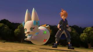World Of Final Fantasy PC gameplay footage