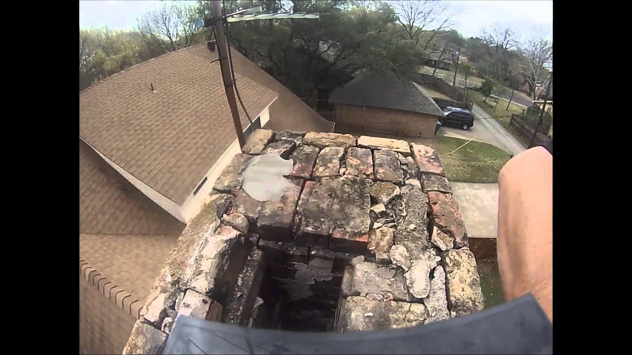 Chimney Repair Mortar Crown Youtube