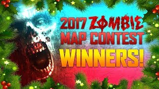 Top 10 Zombie Map Contest Winners!