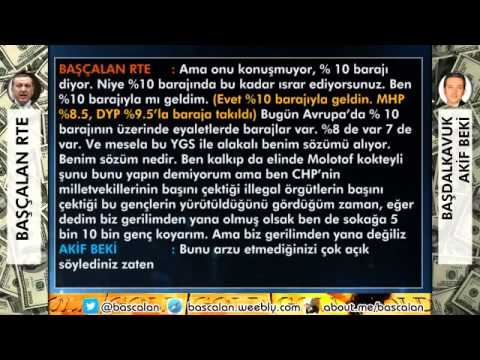 Erdoğan Kanal 24'e Ayar Veriyor  Alo Akif BEKİ