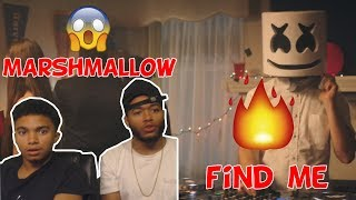 REACTION !! Marshmello - Find Me (Official Music Video)