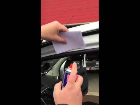 protéger les joints de votre voiture avec un lubrifiant silicone