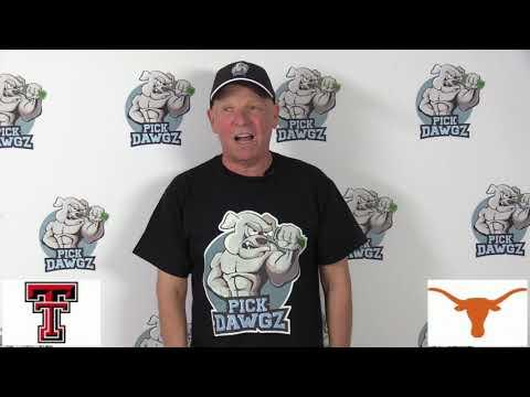 Texas vs Texas Tech 11/29/19 Free College Football Pick and Prediction Week 14 CFB Tips