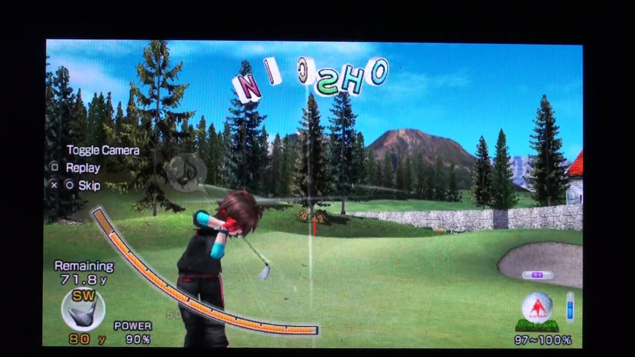 Немного Поиграл В Everybody's Golf [PlayStation Vita]
