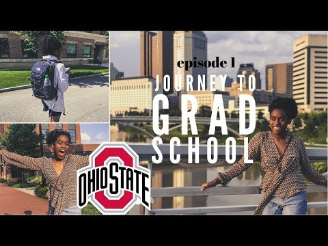 JOURNEY TO GRAD SCHOOL VLOG  | EPISODE 1: Summer Research at Ohio State | Moving In + Exploring Ohio
