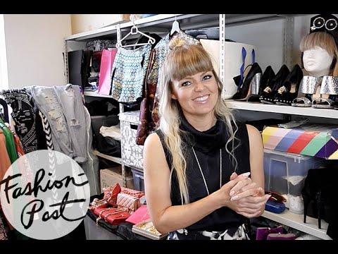 Garderobe-snageren: På besøg hos Lina Rafn
