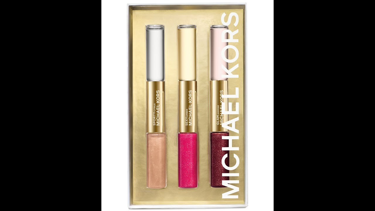 Michael Kors Lip Duo Gift set... Bae's debut appearance also - YouTube