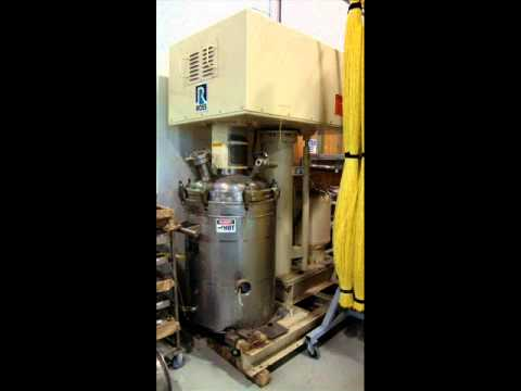 Ross Vacuum Mixer Reactor With Double Hellical Agitator