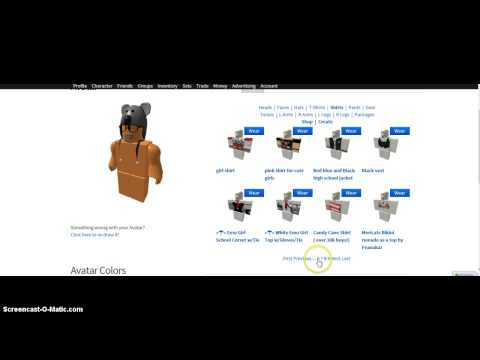 how to make your roblox character look cute