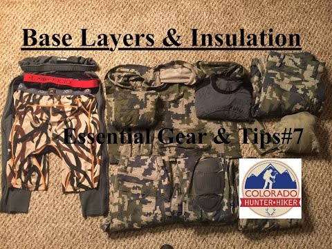 Base Layers And Insulation - Backpacking Hunting Hiking Clothing - Essential Gear & Tips #7
