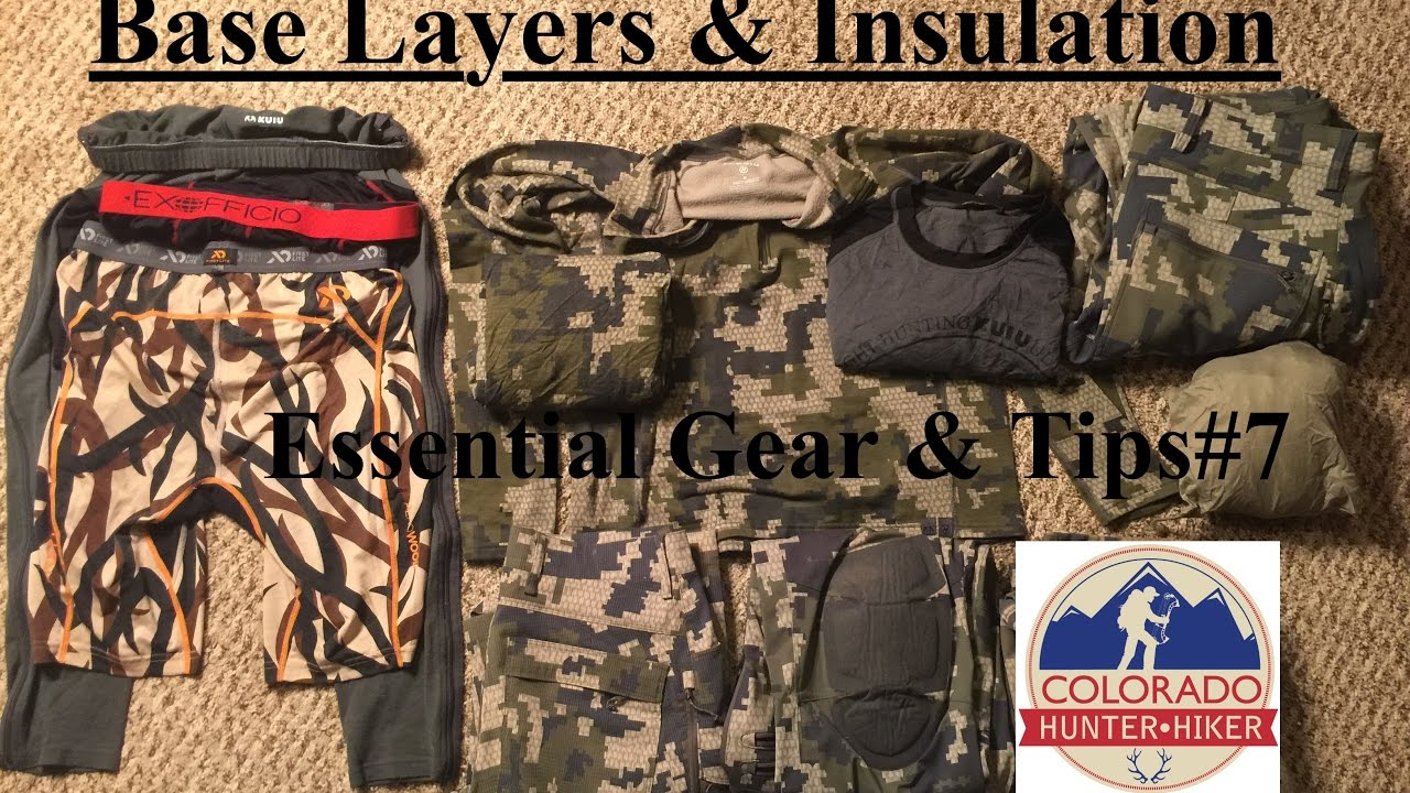 c5fabf5a9a3a2 Base Layers and Insulation - Backpacking Hunting Hiking Clothing -  Essential Gear & Tips #7