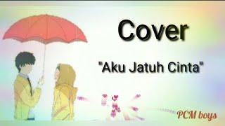 Cover aku jatuh cinta Roulette lagu lirik animasi lagu kasmaran lagu bagus versi akustik