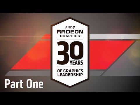 30 Years of Graphics & Gaming Innovation: #AMD30Live (1/2)