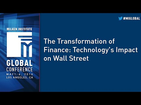 The Transformation of Finance: Technology's Impact on Wall Street