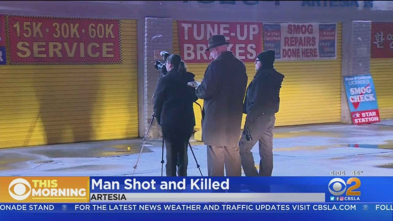 Man Shot And Killed In Artesia