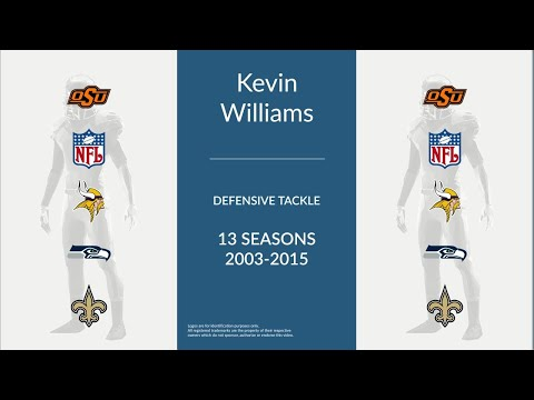 Kevin Williams: Football Defensive Tackle
