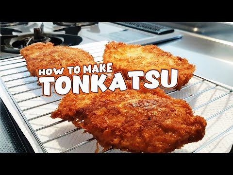 Japanese Pork Cutlet Recipe: Tonkatsu