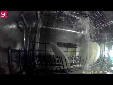 Работа посудомоечной машины WHIRLPOOL WFC3C26