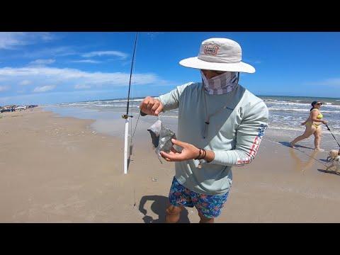 Texas Surf Fishing 2020 (Shark Fishing)