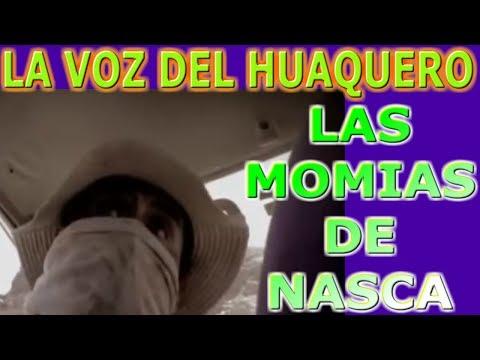 Momias de Nasca - La voz del huaquero posiblemente sea Mario!! Seres armados o tridactilos de Nasca.