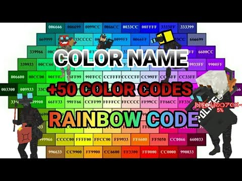How to COLOR NAME + RAINBOW   DeathRun Portable & Online Games ...