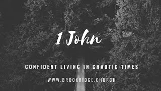 Confident Living in Chaotic Times: The Word of Life Revealed 1 John 1:1-4 - February 21, 2021
