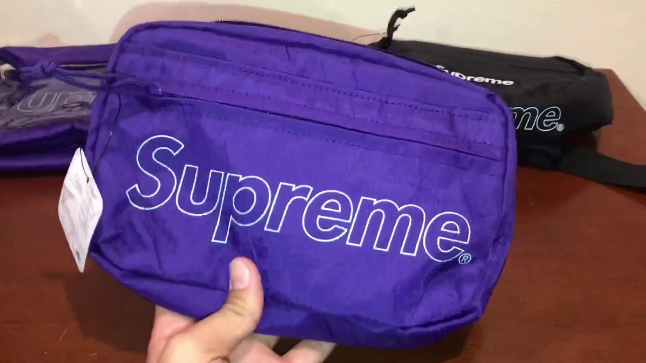 75fc53e9 Supreme FW18 bags review ( Waist Bag vs. Shoulder bag vs. Utility bag)  which is worth it ?