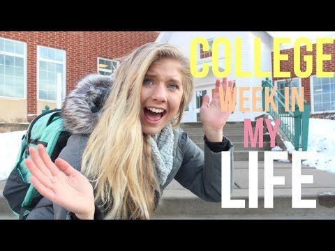 college week in my life