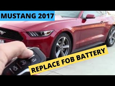 DIY Replace FOB Batteries 2016-18 Ford Mustang or Explorer FOB Key