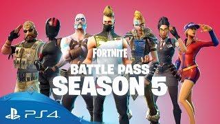 Fortnite | Battle Pass Season 5 | PS4