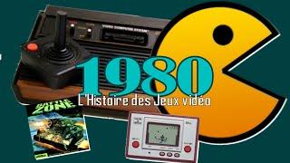 1980 & Pac-man - L'Histoire des Jeux Vidéo