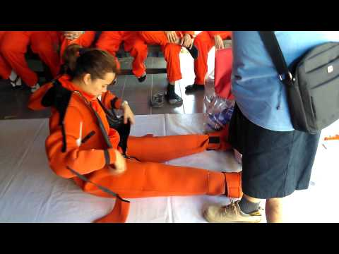 Immersion Suit Saved My Life Says Fisherman Aboard Sinking Boat