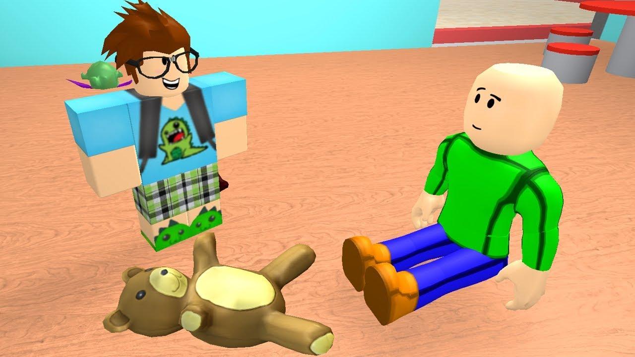 Baldi Goes To Kindergarten Roblox Animation Youtube