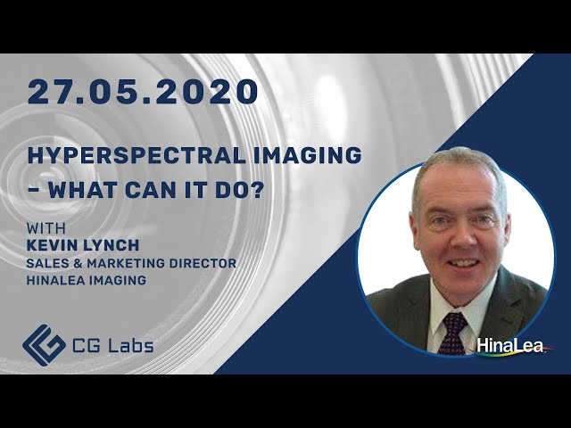 Hyperspectral Imaging - What can it do? -  Kevin Lynch