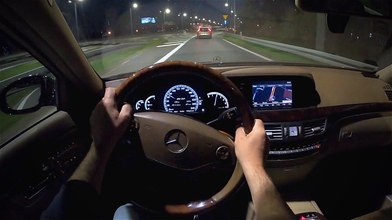 2009 Mercedes-Benz S320 CDI   Therapeutic Drive [ POV ]
