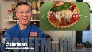 Tomato Basil Tartlets with Chef Mark