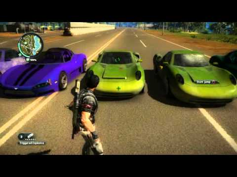 All The Different Types Of Sports Cars On Just Cause 2