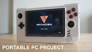 Portable PC Handheld Project - Introduction
