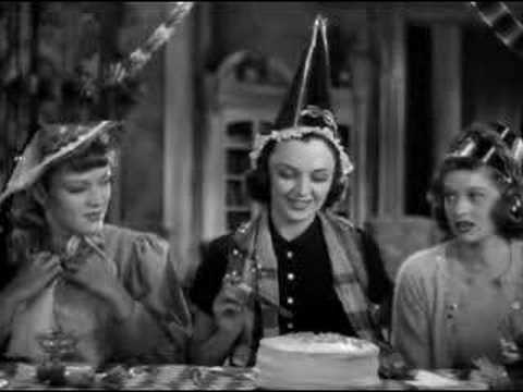 birthday movie Birthday Scene from Stage Door   YouTube birthday movie