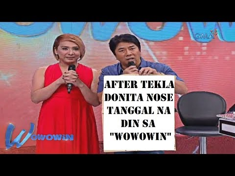 Donita Nose Nag-Resign o Tinanggal na din sa Wowowin ni Willie Revillame
