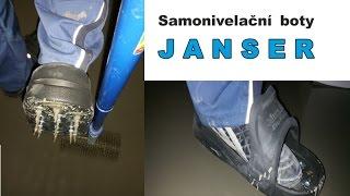 Nivelační boty Janser