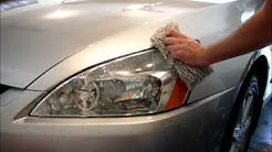 Rain X Headlight Restoration
