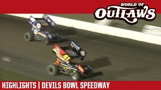 World of Outlaws Craftsman Sprint Cars | Devil's Bowl Speedway 4/14/17