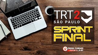 Sprint Final TRT 2 | Matemática e RL