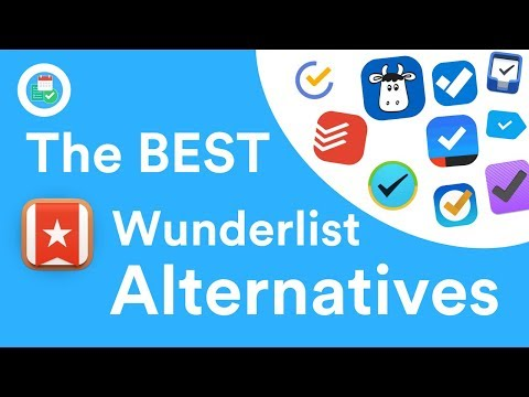 Wunderlist Replacements | 10 Best Wunderlist Alternatives