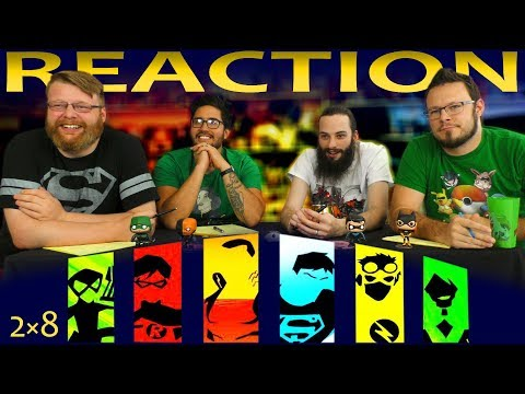 Young Justice 2x8 REACTION!! Satisfaction