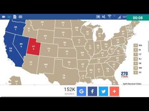 Final Presidential Election Prediction Polls November 8th