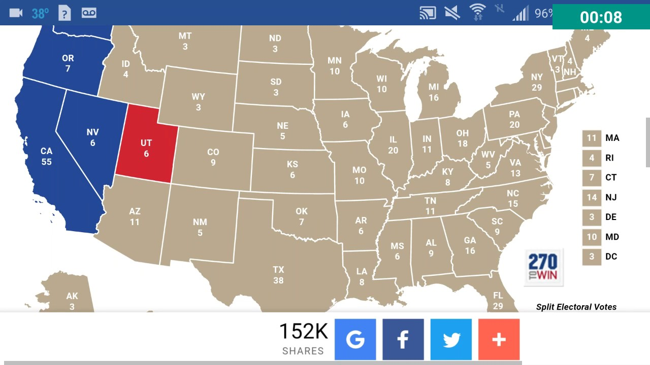 Final Presidential Election Prediction Polls November Th YouTube - Us election prediction map