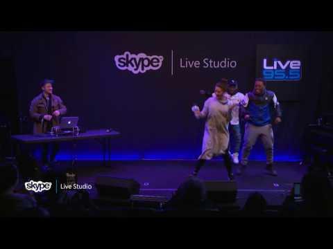 Zay & Zayion - Dance Challenge (LIVE 95.5)